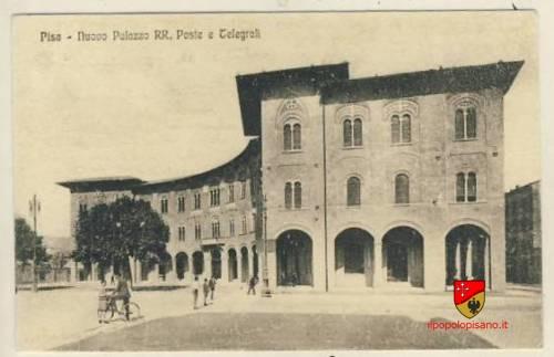 Palazzo delle poste  inaugurato il 28 ottobre del 1929 Cartolina d'epoca fonte ebay aggiunta da Birindelli Marco